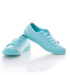 Vékonyabb, rugalmas anyagú, fűzős női cipő (JX30)