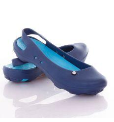 Kis köves, balerina fazonú női gumi cipő vagy vizicipő (T428)