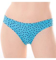 Apró szíves, lézervágott elasztikus női normál alsó (ZB9071)