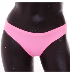Egyszínű, derekán vékony gumis, lézervágott, elasztikus női normál alsó (ZG9045)