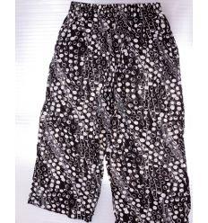 Buborék mintás, gumis derekú, bő fazonú női halász nadrág (K-702)