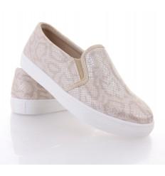 Zara style kígyó mintás műbőr női cipő (0015-73)