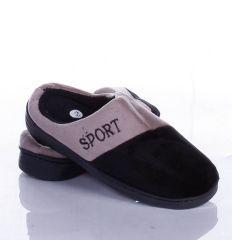 Sport feliratú, meleg, puha szobapapucs (W8800-1)