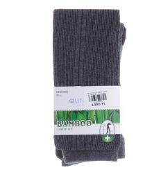 Bambuszos, oldalt szélesebb csíkos, bordás női harisnya nadrág (NHZ8052)