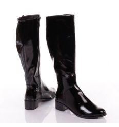 New Look lakk, belül textil béléses női csizma (03571713)