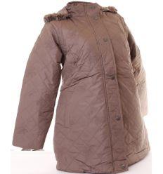 Moletti steppelt virágos bundás női kabát (5803-3)